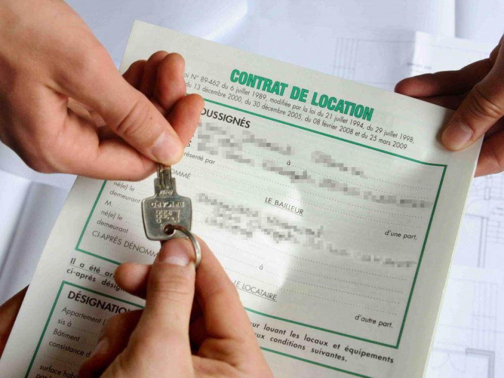 clef et contrat de location